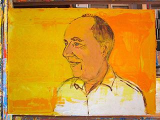 Jacek Łydżba : Tom : Oil on Canvas