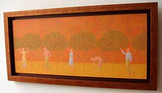 Mikołaj Kasprzyk : Apples : Oil on Canvas