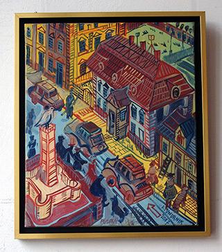 Edward Dwurnik : Puławy : Oil on Canvas