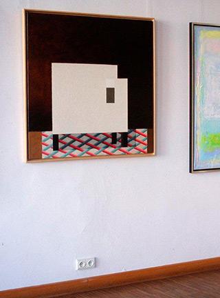 Radek Zielonka : Armchair : Oil on Canvas
