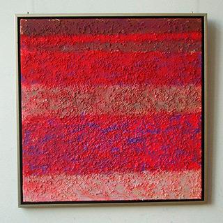 Radek Zielonka : Pink landscape : Oil on Canvas