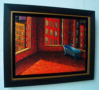 Adam Patrzyk : Bath : Oil on Canvas