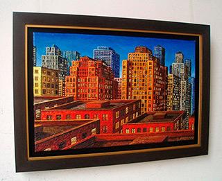 Adam Patrzyk : Beginning of the day : Oil on Canvas