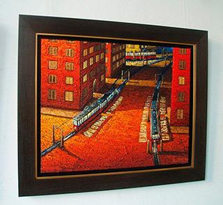 Adam Patrzyk : Connection : Oil on Canvas