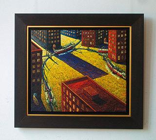 Adam Patrzyk : Encounter : Oil on Canvas