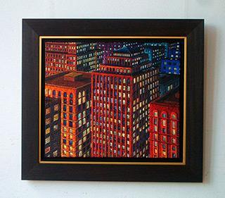 Adam Patrzyk : Last floors : Oil on Canvas