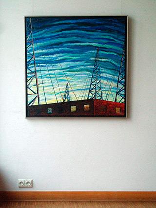 Adam Patrzyk : Waves : Oil on Canvas