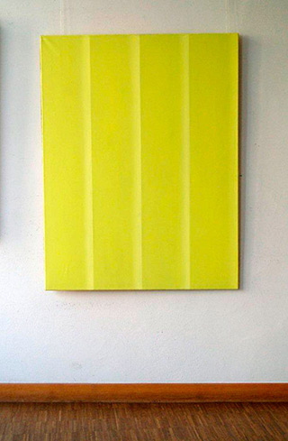 Anna Podlewska : Yellow : Oil on Canvas