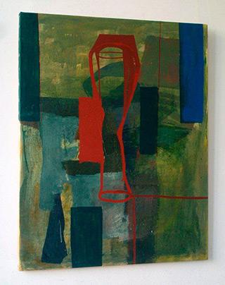 Ciro Beltrán : Painting T-9872 : Oil on Canvas