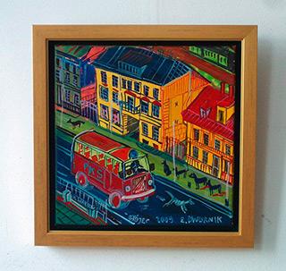 Edward Dwurnik : Grójec : Oil on Canvas
