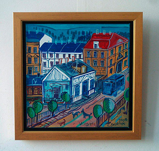 Edward Dwurnik : Wołomin : Oil on Canvas