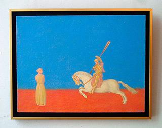 Mikołaj Kasprzyk : Familiarity from Chantilly : Oil on Canvas