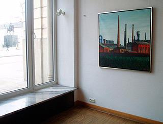 Adam Patrzyk : Factory : Oil on Canvas