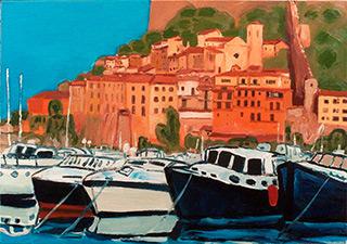 Krzysztof Kokoryn : Porto Ercole : Oil on Canvas