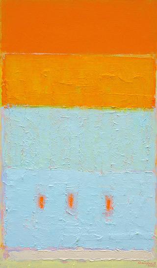 Sebastian Skoczylas : Hidden structures : Oil on Canvas