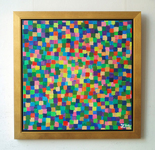Zofia Matuszczyk-Cygańska : Blooming : Oil on Canvas