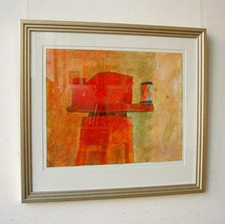 Radek Zielonka : Still life : Oil on paper