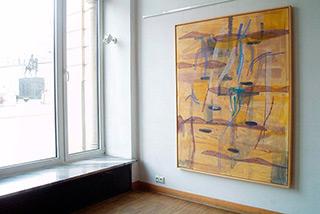 Ciro Beltrán : Painting T-0341 : Oil on Canvas