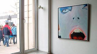 Katarzyna Swinarska : Bowie : Oil on Canvas