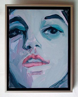Katarzyna Swinarska : Face : Oil on Canvas