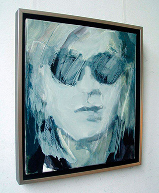 Katarzyna Swinarska : Warhol : Oil on Canvas