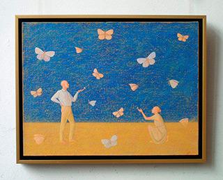 Mikołaj Kasprzyk : Butterflies : Oil on Canvas