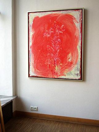 Jacek Łydżba : Lilly : Oil on Canvas