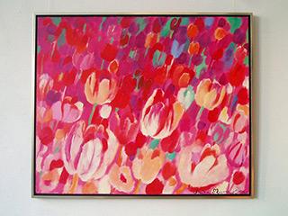 Beata Murawska : Garden of recollections : Oil on Canvas