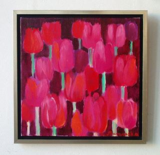 Beata Murawska : Last day of the year : Oil on Canvas