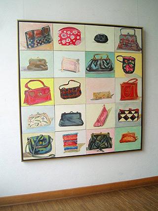 Bogna Gniazdowska : Bags : Oil on Canvas