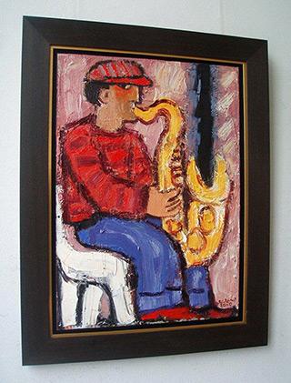 Krzysztof Kokoryn : Gold saxophone player : n/a
