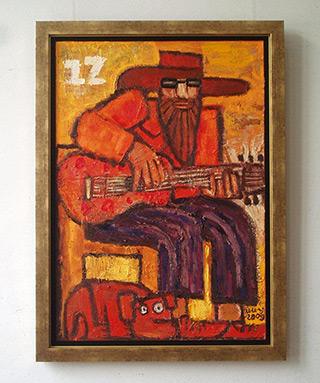 Krzysztof Kokoryn : Zizi : Oil on Canvas