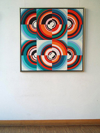 Małgorzata Jastrzębska : Painting  no. 239 : Oil on Canvas
