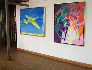 Małgorzata Jastrzębska : Painting no. 297 : Oil on Canvas