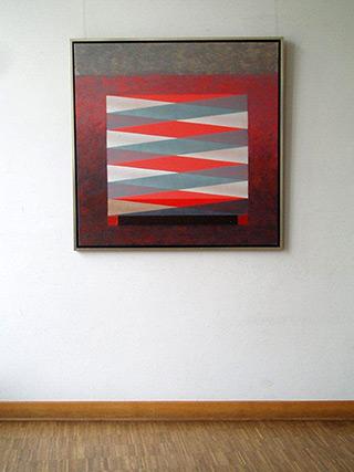 Radek Zielonka : Armchair : Acrylic on Canvas