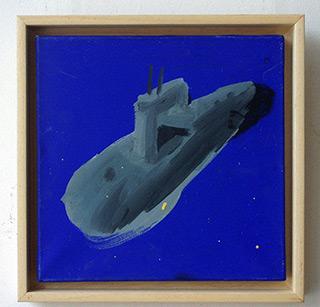 Radek Zielonka : Submarine : Acrylic on Canvas