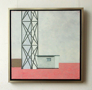 Radek Zielonka : Tower : Acrylic on Canvas
