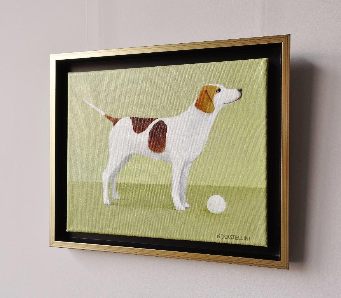 Katarzyna Castellini - Dog with a ball