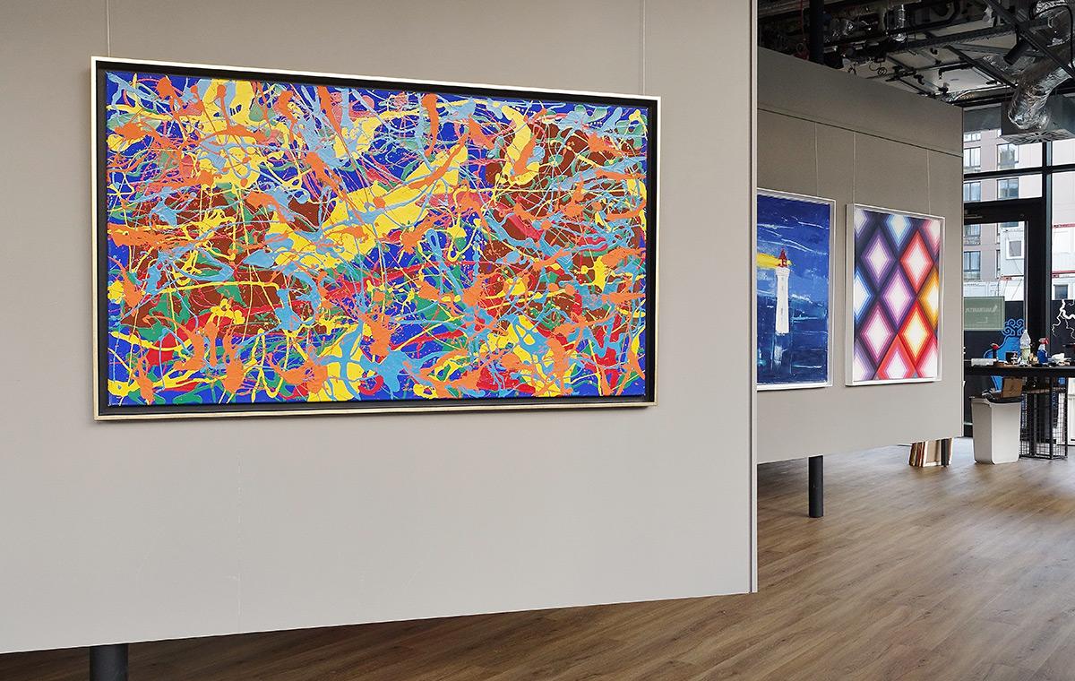 Edward Dwurnik : Abstract painting No 269