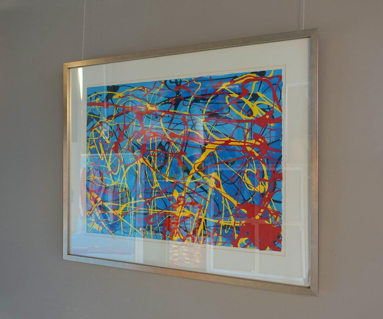 Edward Dwurnik : Abstract composition