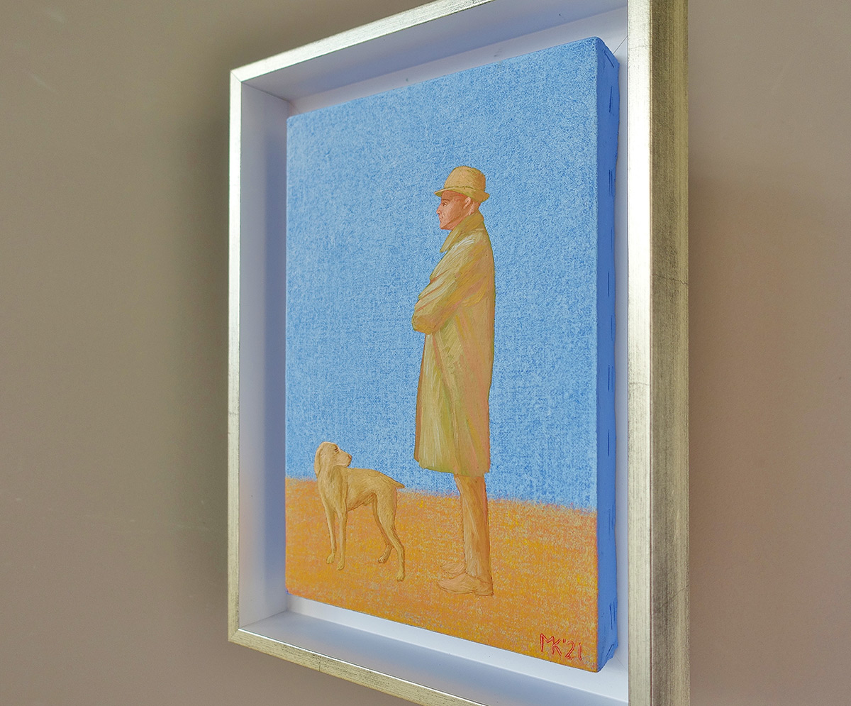 Mikołaj Kasprzyk : Gentleman with a dog
