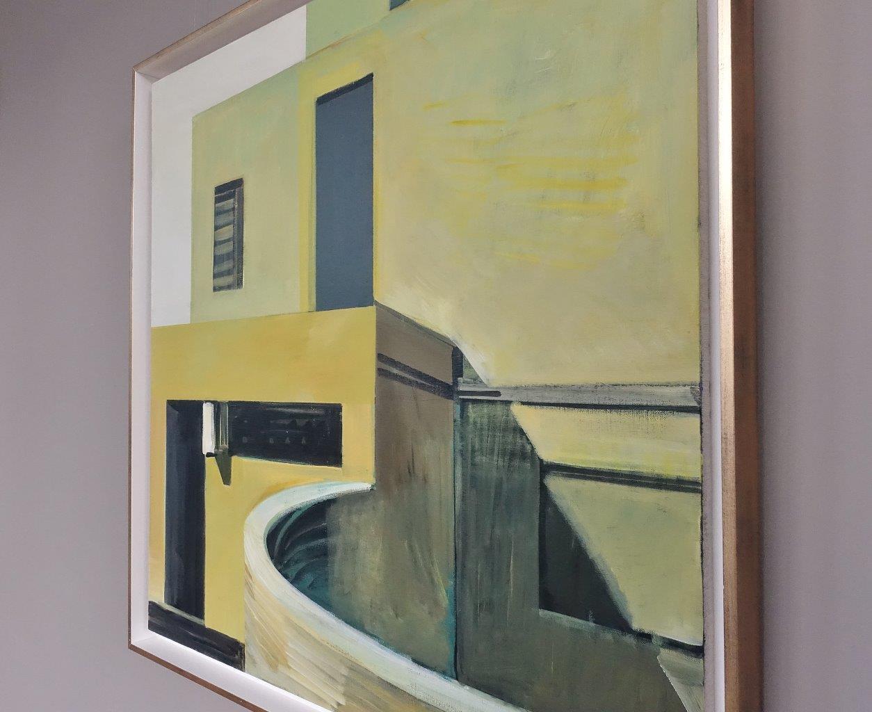 Maria Kiesner : Villa in yellow light