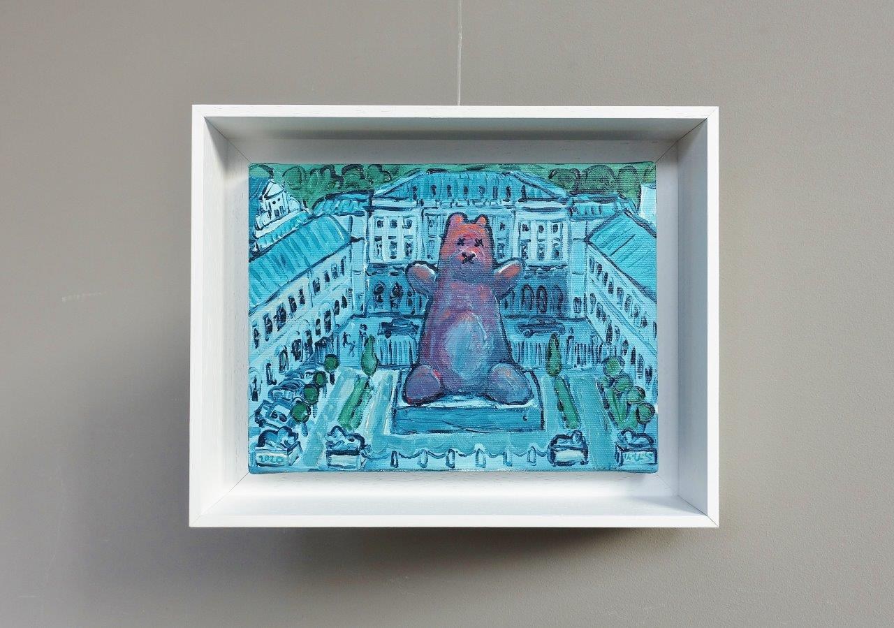 Krzysztof Kokoryn : Teddy bear in the Palace