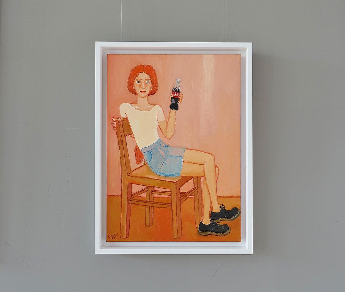Krzysztof Kokoryn : Redhead with a bottle of Coca Cola