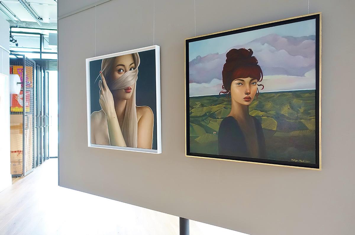 Katarzyna Kubiak : Portrait in a landscape