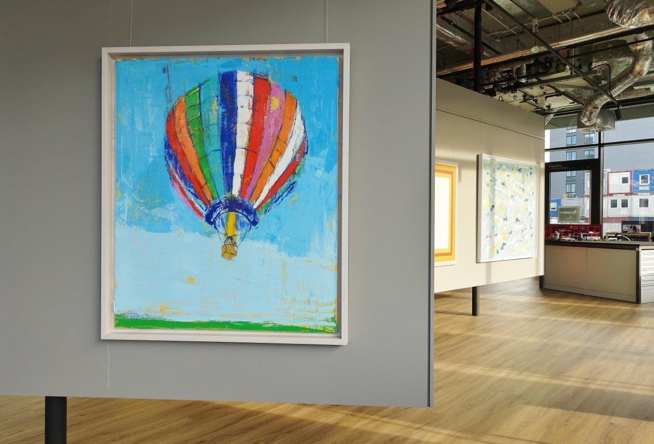 Jacek Łydżba : Balloon takeoff