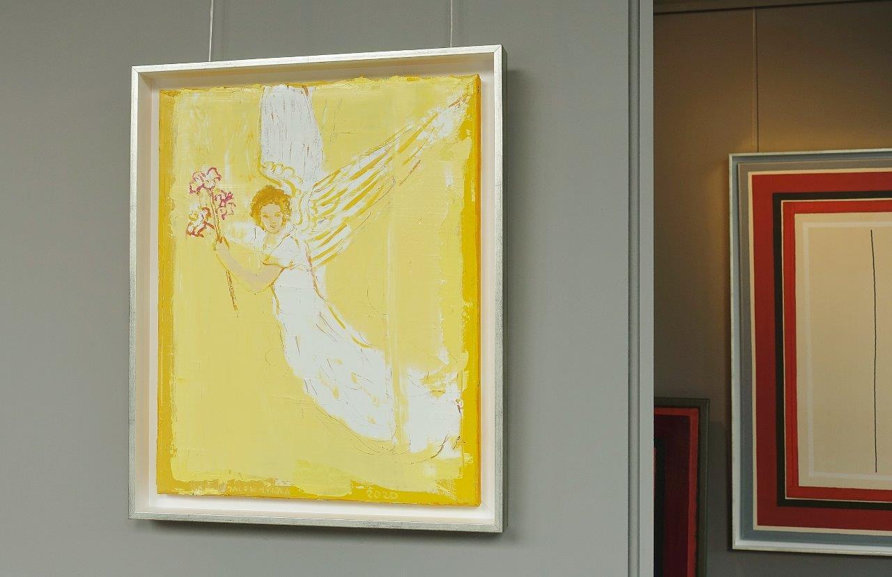 Jacek Łydżba : Angel with a lily