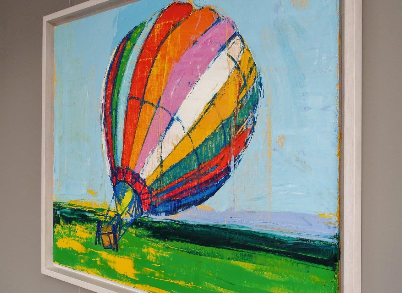 Jacek Łydżba : Balloon on the ground