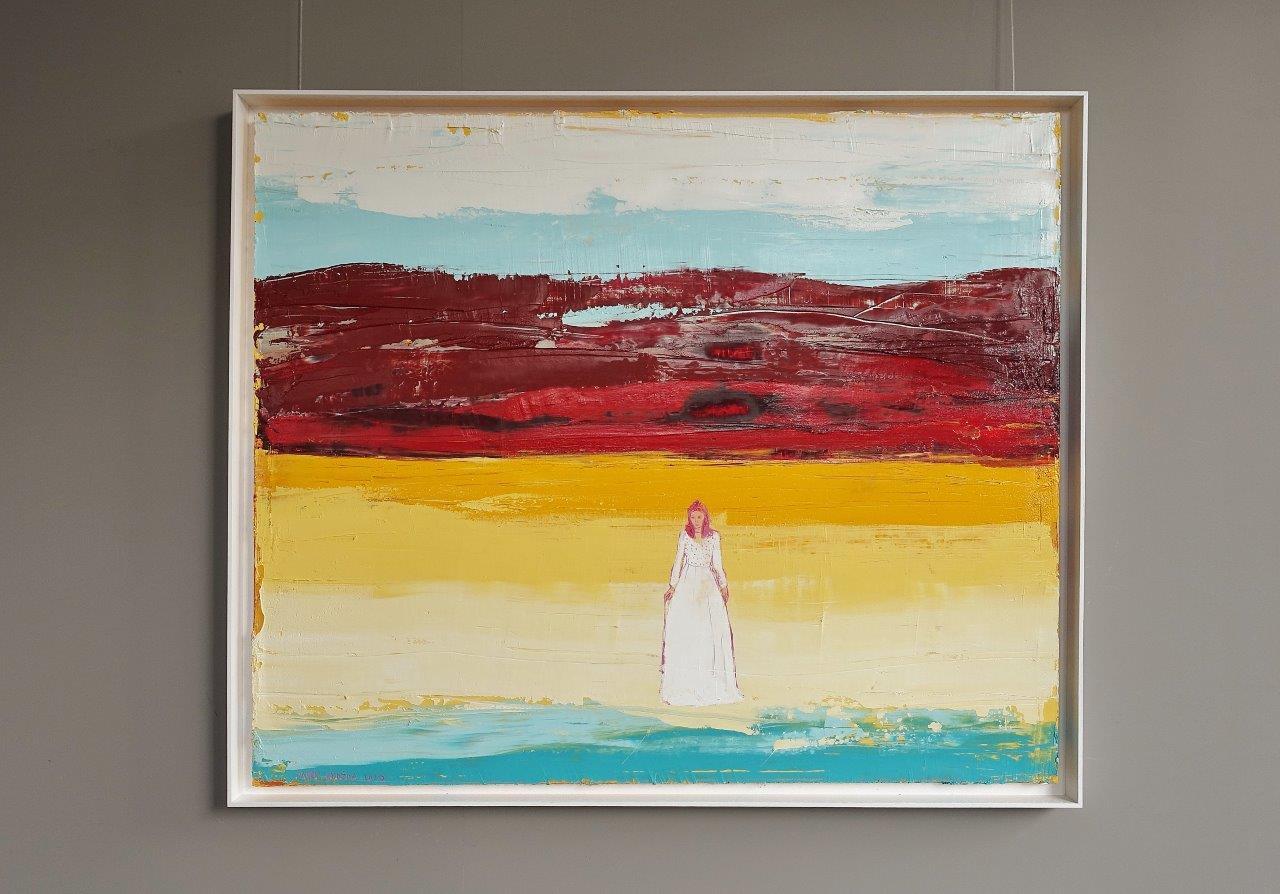 Jacek Łydżba - Woman on the seashore