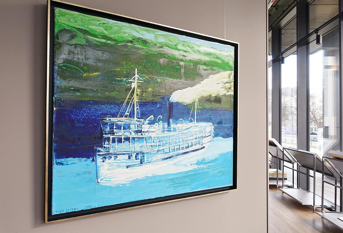 Jacek Łydżba : Fitzcarrald's steamboat